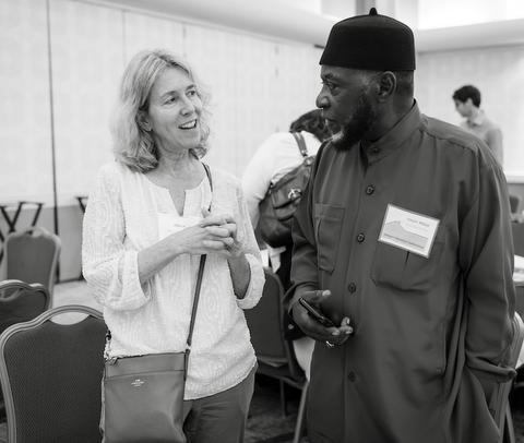 Rep. Alissa Keny Guyer & Imam Shabazz