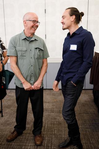 Ed Blackburn & Friend